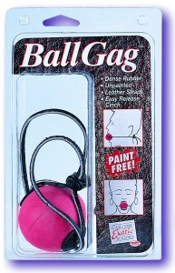 Ball Gag Paint Free