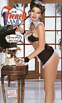 The French Maid Doll. Lift my skirt get a view!
