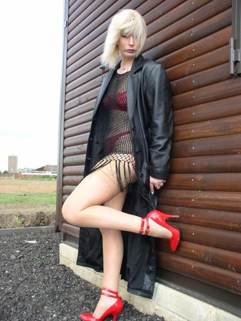 crossdressed whore